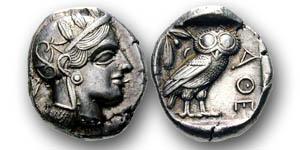 Die Eulen aus Athen