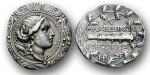 Die letzte Tetradrachme Makedoniens