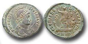 Theodosius I. - Der letzte Herrscher des gesamtrömischen Reiches