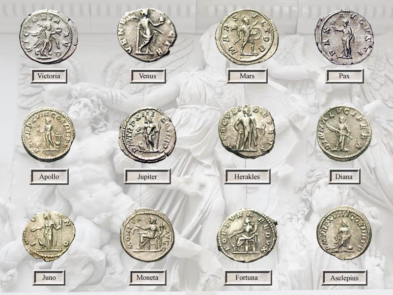 Die Götter Roms Römische Sammlungen сбор