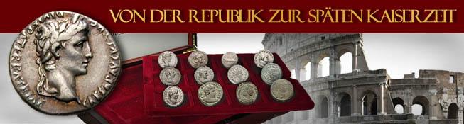 Von der Republik zur späten Kaiserzeit