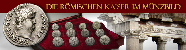 Die römischen Kaiser im Münzbild
