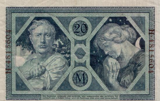 1915 - 06 - Juni - Die Phantasie treibt seltsame Blüten