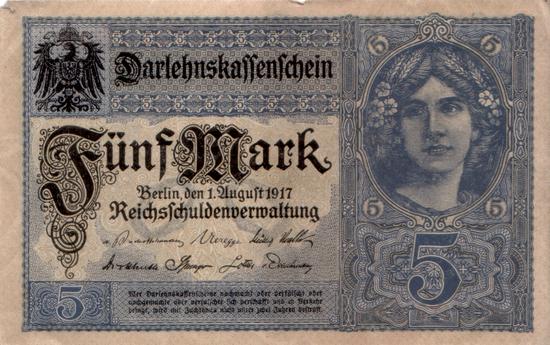 1917 - 08 - August - Darlehenskassen - Eine alte Tradition