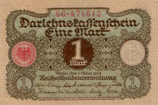 1920 - 03 - März - So genau nimmt man es nicht