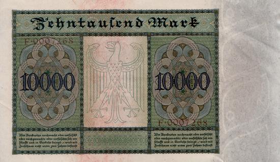 1922 - 01 - Januar - Der größte Schein der Reichsbank