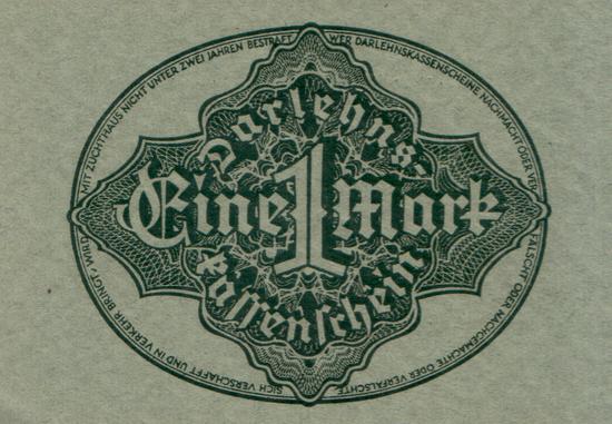 1922 - 09 - September - Die letzten Noten der Darlehenskassen