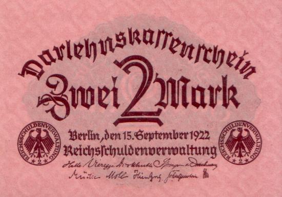 1922 - 09 - September - Nur geringer Bedarf