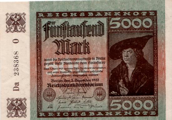 1922 - 12 - Dezember - Die sparsame Reichsbank