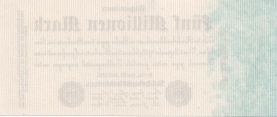 1923 - 07 - Juli - Geripptes Papier