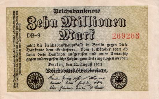 1923 - 08 - August - Die Wasserzeichen der Privatdruckereien