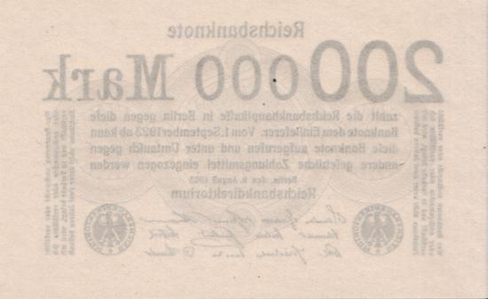 1923 - 08 - August - Notwendiges Kleingeld zum Wechseln