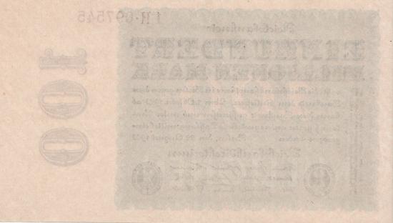 1923 - 08 - August - Reichsdruckerei und Privatdruckereien liefern unterschiedliche Banknoten