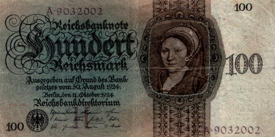 1924 - 10 - Oktober - Eine Gemäldegalerie von Hans Holbein d. J.