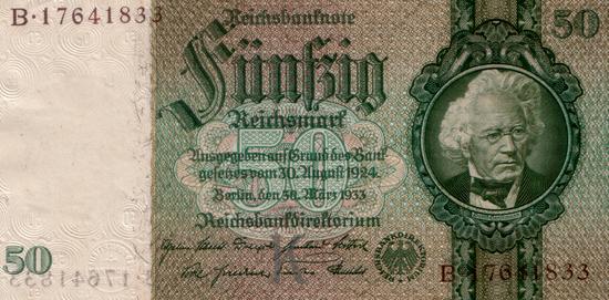 1933 - 03 - März - Ein preußischer Finanzminister