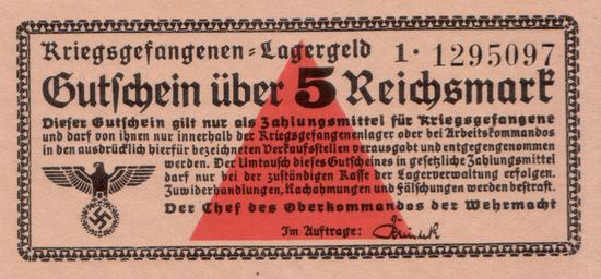 1939 - Erinnerung an das Oberkommando der Wehrmacht