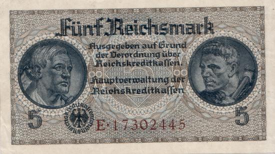 1940 - Deutsche Währung im besetzten Ausland