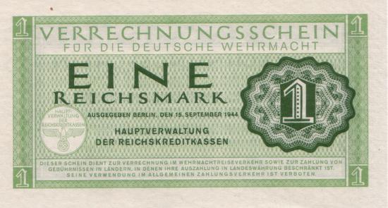 1944 - 09 - September - Soldatengeld in fremden Ländern
