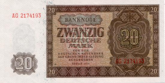 1948 - Bei der Zweitauflage Plattennummern