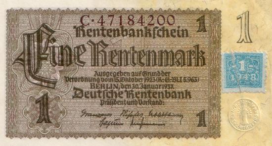 1948 - 06 - Juni - Zwei Währungen in einem Land