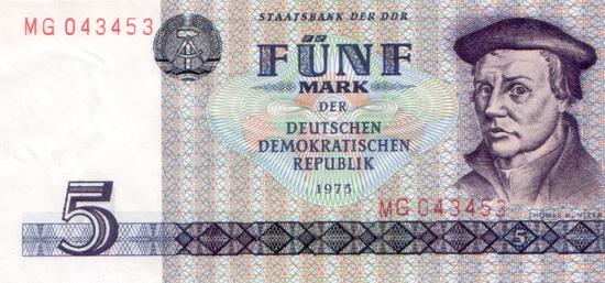 1975 - Eine Währung verabschiedet sich