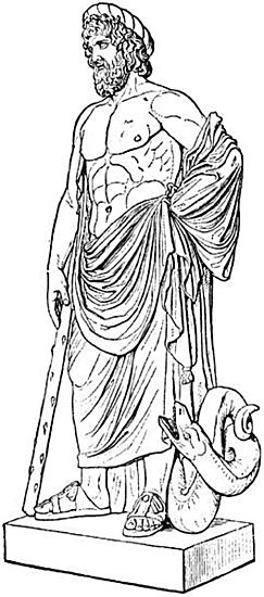 Aeskulap - Der Gott der Medizin
