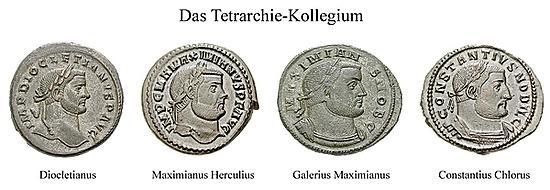 Constantinus I., Chlorus