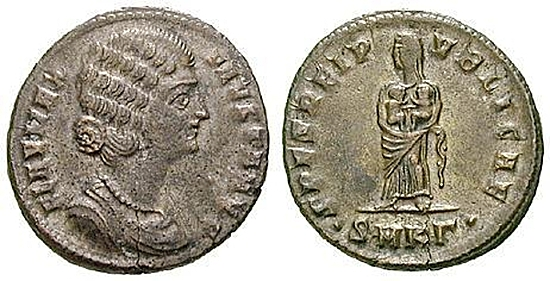 Fausta, Frau Constantinus I.