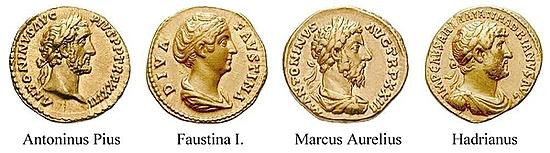 Faustina II., Frau des Marcus Aurelius