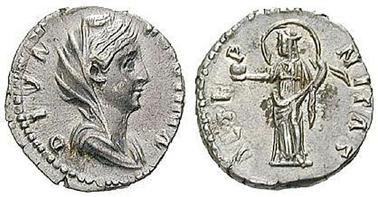 Faustina I., Frau des Antoninus Pius