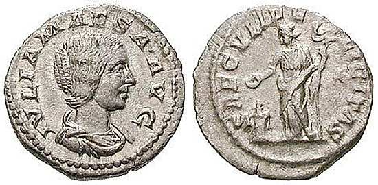 Julia Maesa, Großmutter des Elagabal