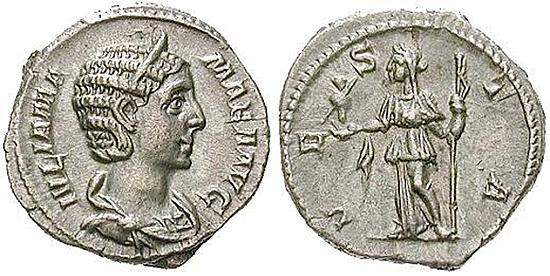 Julia Mamaea, Mutter des Severus Alexander