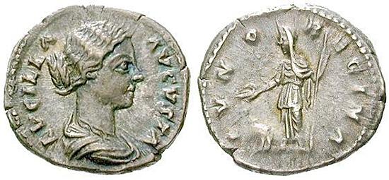 Lucilla, Frau des Lucius Verus