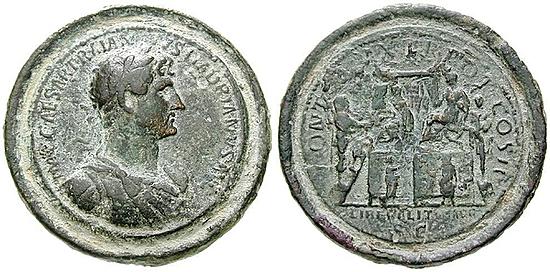 Medaille und Medaillon