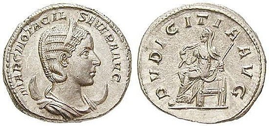 Otacilia Severa, Frau Philippus I.