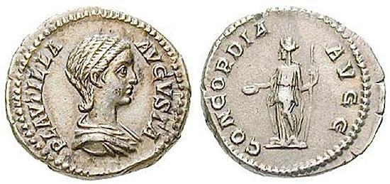 Plautilla, Frau des Caracalla