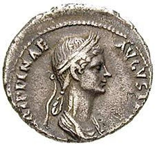 Poppaea. Frau des Nero