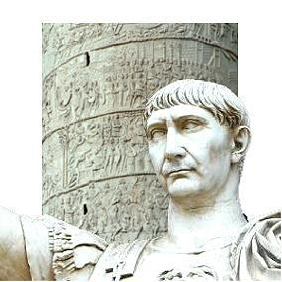 Traianus mehrt den Reichtum Roms mit dem Gold der Daker