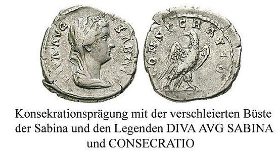 Sabina, Frau des Hadrianus