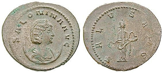 Salonina, Frau des Galienus