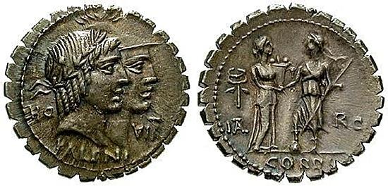 Serrati der Römischen Republik