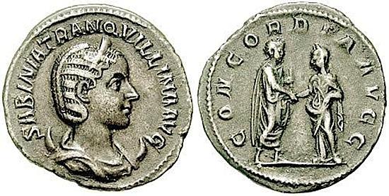 Tranquillina, Frau Gordianus III.