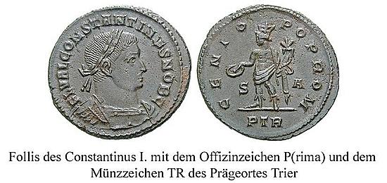 Römische Münzstätte Trier